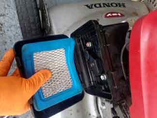 mower air filter