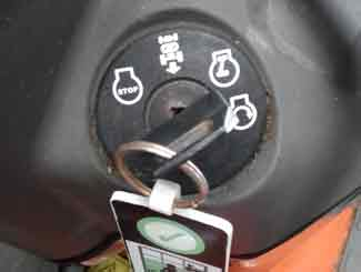 ride on ignition switch