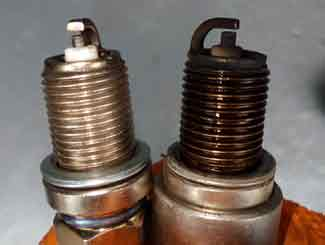 Mower spark plugs