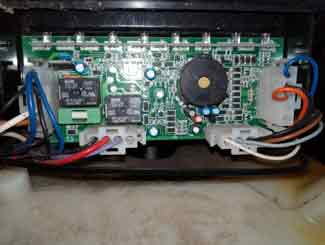 riding mower control module