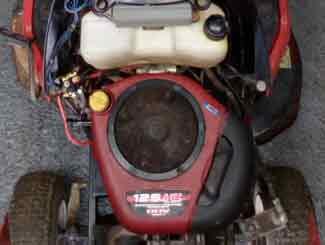 Mower ignition