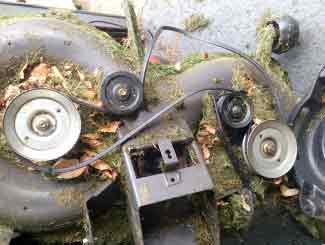riding mower deck