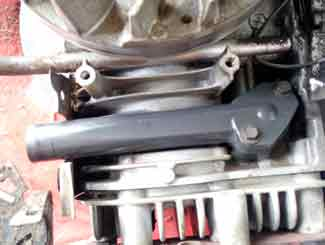 mower manifold