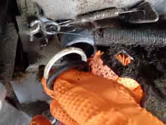 mower gas tank seal