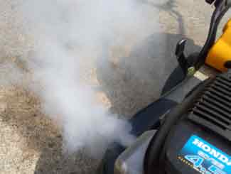 FIXED! | White Smoke From Lawn Mower | Lawnmowerfixed com