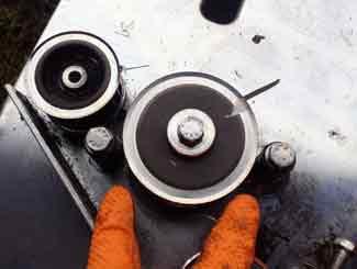 mower belt pulley
