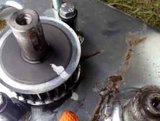 mower deck pulley