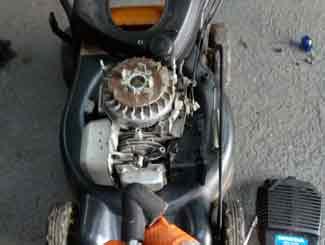 Mower coil