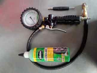 Mower tyre tools