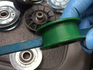 Mower pulley