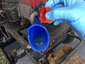 mower oil