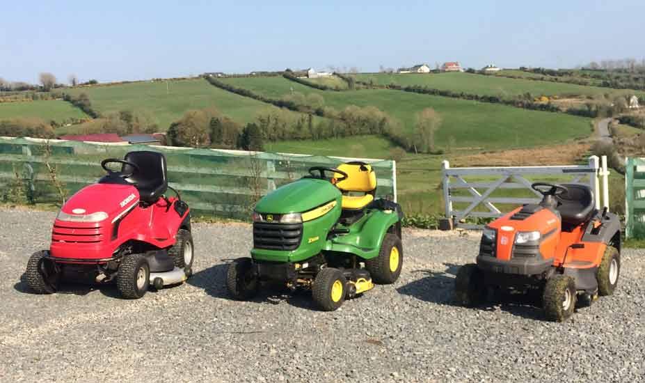Ride-on mowers